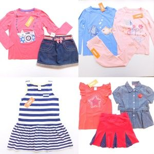 Gymboree Girl Size 5 Spring Clothes Lot Tops Skirt